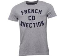 Herren French Co-nnection T-Shirt Grau