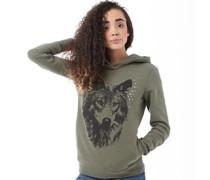 adidas Neo Womens Wolf Logo Hoody St Major