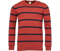 Bench Mens Oeuvre Jumper Red