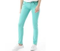 Damen Skinny Jeans Minz Grün