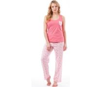 Damen Nachthemd Pink