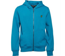 Lyle And Scott Junior Classic Hoody Pagoda Blue