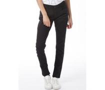 adidas Neo Damen Super Skinny Jeans Schwarz