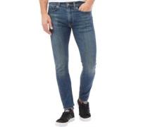 Herren 519 Extreme Skinny Jeans Verblasstes Blau