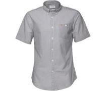 Farah Vintage Herren Sloane True Hemd mit kurzem Arm Blau
