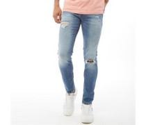 Glenn Original Ge 142 Jeans in Slim Passform Denim