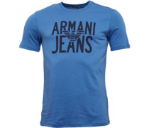 Herren T-Shirt Blue
