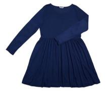 Damen Skater Kleid Blau