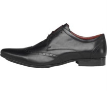 Onfire Herren Wing Tipped Schuhe Schwarz