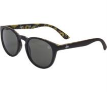rround Sonnenbrille Gelbgrün