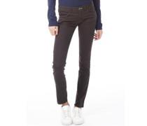 Damen Jeans in Slim Passform Anthrazit