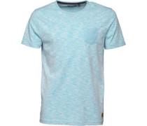 Herren Nixon T-Shirt Hellblaumeliert
