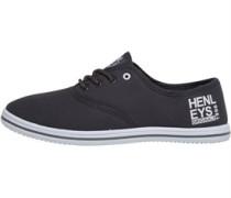 Henleys Herren Stash Plimsolls Freizeit Schuhe Grau