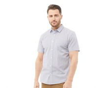Hemd mit kurzem Arm Mehrfarbig