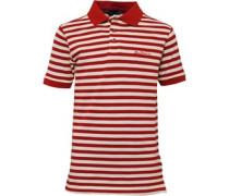 Jungen Polohemd Target Red