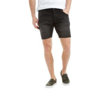 Herren Merlin Denim Shorts Schwarz