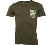 Herren Pulp T-Shirt Steingrau