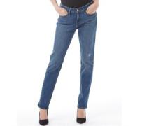 Levi's Womens 712 Slim Fit Jeans Stitched Sky