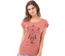 Firetrap Damen Slouch Canyon T-Shirt Rosa