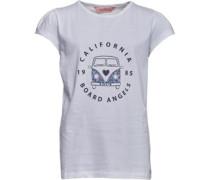 Mädchen Camper Van T-Shirt Weiß