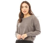Pullover mit Rundhalsausschnitt Schiefer