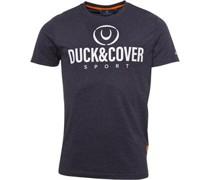 Billmoore Graphic T-Shirt Anthrazitmeliert