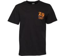 Herren Ball Game T-Shirt Schwarz