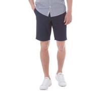 Herren Solid Chino Shorts Blau