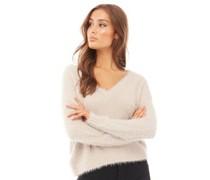 Foxtrot Fluffy Pullover mit V-Ausschnitt