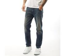 Krayver R48Xu Jeans in Slim Passform Verblasstes Dunkel