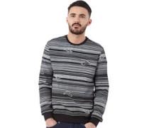 Herren Rotation Sweatshirt Schwarz