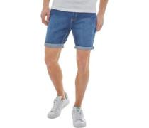 Uganda Denim Shorts Blau