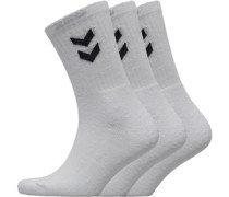Drei Pack Crew Socken