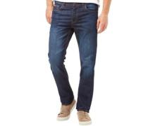 Herren Basicon Jeans mit geradem Bein Dunkel Denim