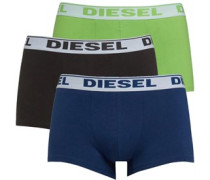 Mens Fresh And Bright Three Pack Boxers Multi