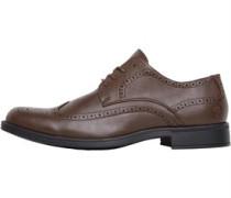 Farah Vintage Herren Sherbourne Brogue Schuhe Braun