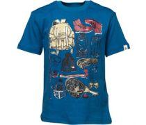 Original Penguin Jungen Camping Snorkel T-Shirt Blau