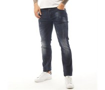 Bosque Jeans in Slim Passform Dunkel Denim