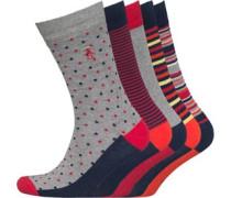 Original Penguin Herren Socken Mehrfarbig