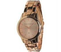 Armbanduhr Rosa-Gold