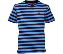 Junior Micro Stripe T-Shirt Deep Indigo