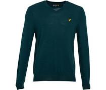 Lyle And Scott Vintage Herren Non-ed s Pullover mit V-Ausschnitt Grün