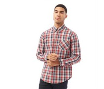 Hemd mit langem Arm Rot