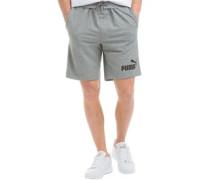 Herren No 1 Logo Shorts Graumeliert