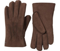UGG Australia Womens Glove With Gauge Points Chocolate