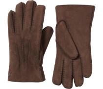 Damen Handschuhe Dunkelbraun