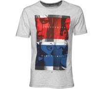 Herren Compliance T-Shirt Hellgraumeliert