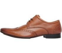 Onfire Herren Wing Tipped Tan Schuhe Braun