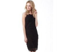 Superdry Womens Racy Lacy Dress Black
