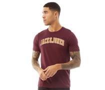 Jjcrossing T-Shirt Burgunder